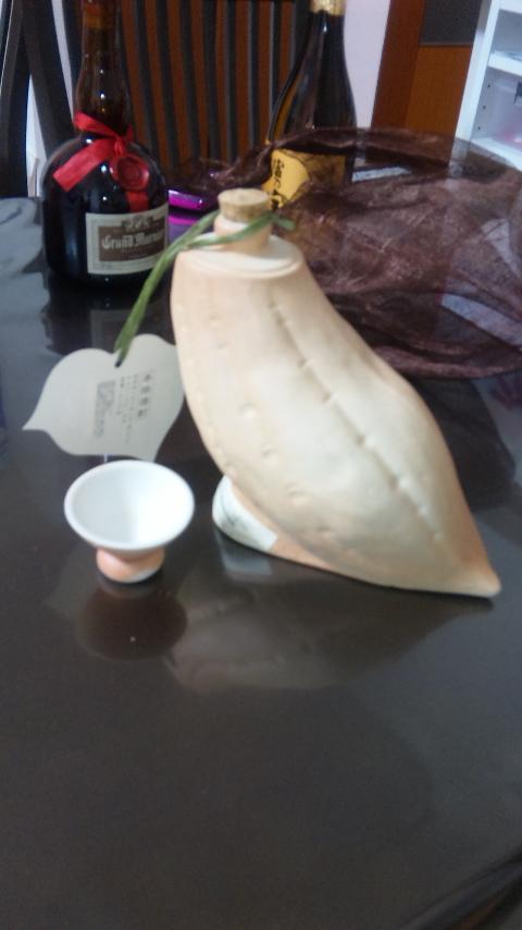 お芋のカタチの焼酎