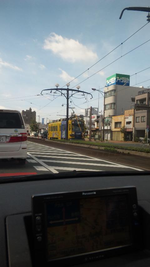 路面電車!