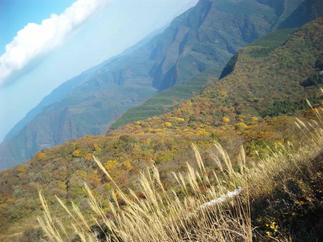 色鮮やかな山♪