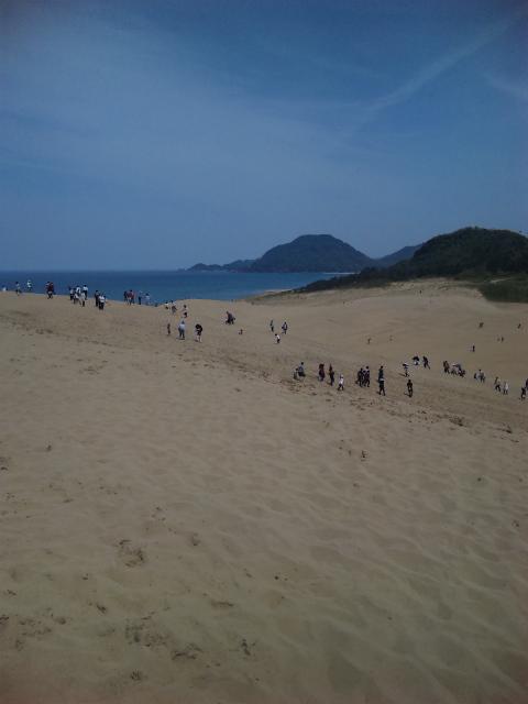 鳥取砂丘へ